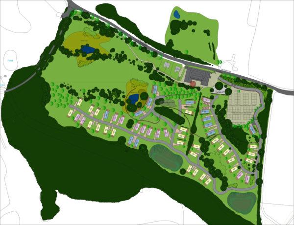 Warren Lodges North Plan