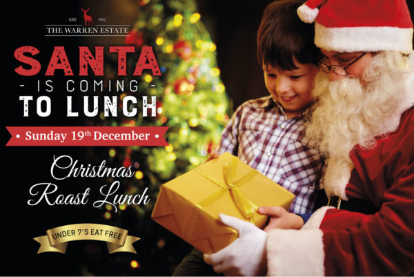 Christmas Roast Lunch with Santa and his Elves