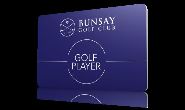 Free Golf Player Card