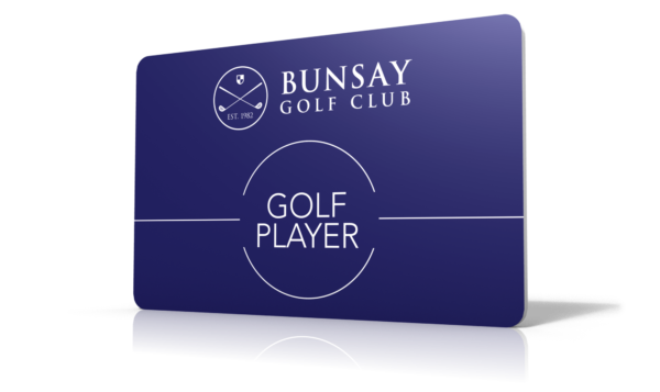 Free Golf Player Card