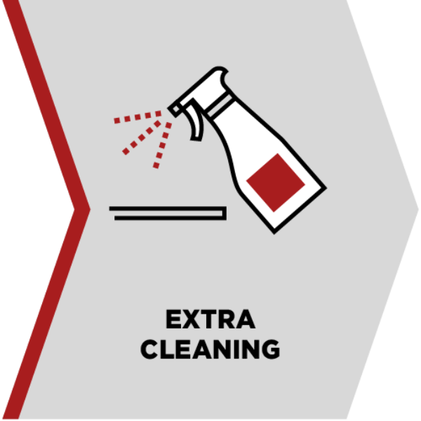 extra cleaning