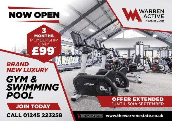 Warren Active £99 Offer