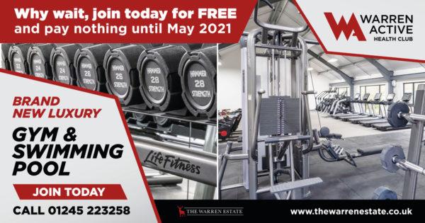 Gym membership offer