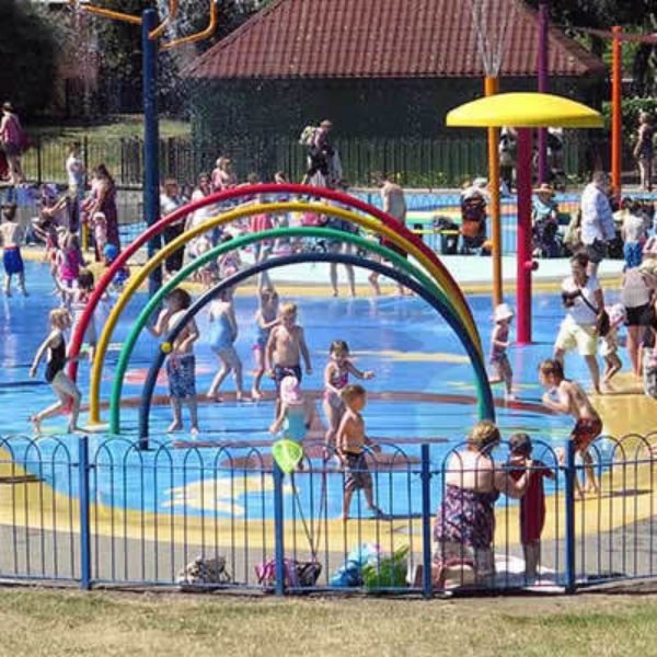 Splash Park at Maldon Promenade Park
