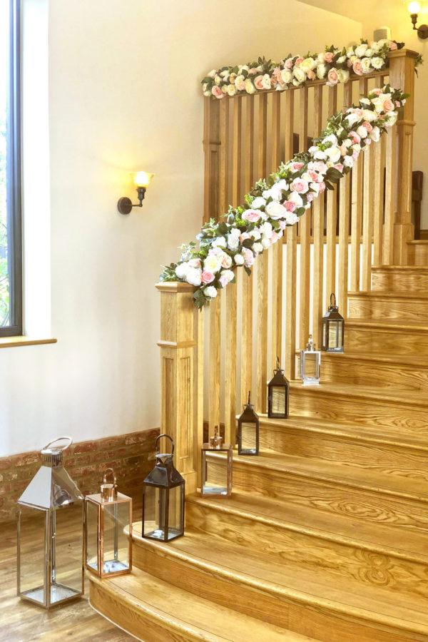 Rose Barn Grand Staircase